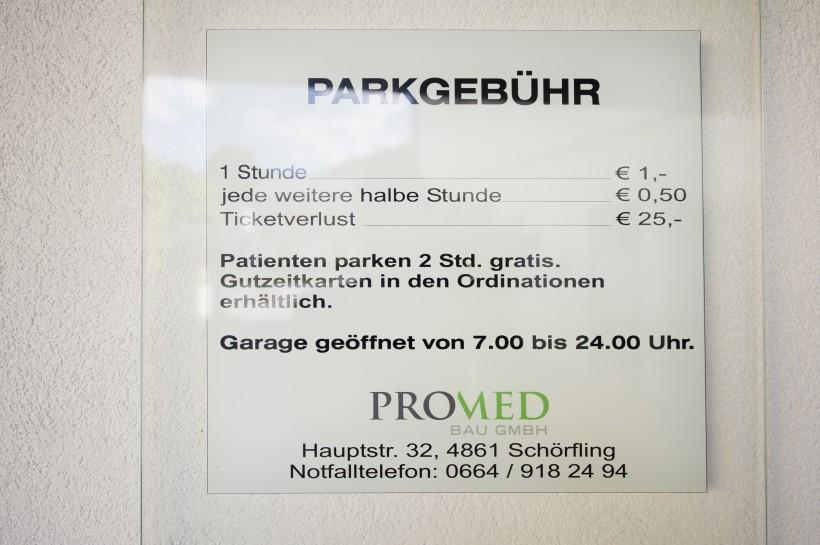Parkgarage Seepark Kammer
